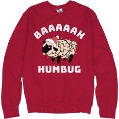 Bah Humbug Funny Christmas Sweater
