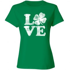 Irish Love Shamrock