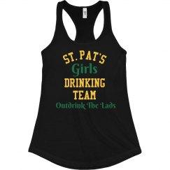 St Patricks Girls Drinking Team