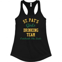 St Patricks Girls Drinking Team