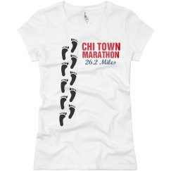 Marathon Foot Prints