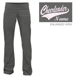 Cheerleader Name Pants