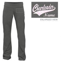 Cheerleader Name Pants