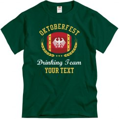 Custom Oktoberfest Drinking Teams