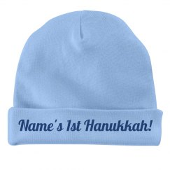 Custom First Hanukkah Hat