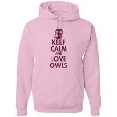 Hooded Keep Calm Owl