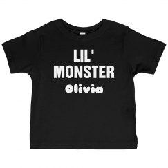 Custom Lil Monster Funny Halloween