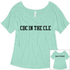 CBC 2020 Nutcracker Ladies Tri-blend Flowy Tee