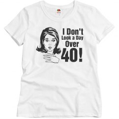 Day Over 40 Birthday