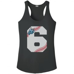 #33 Ladies Performance Tank-Sport Tek Brand