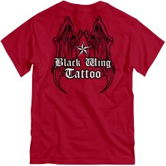 Tattoo Parlor WIngs Tee