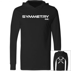Mens/Ladies Long Sleeve Hooded Tee