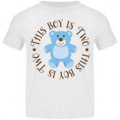 2nd Birthday Teddy Bear