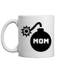 Mom Is The Bomb Bomb Coffee Mug