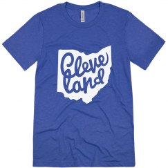 Retro Soft Cleveland Ohio Pride Tee