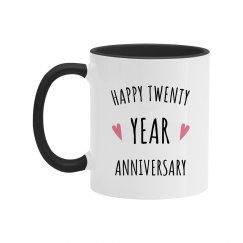 Happy 20 Year Wedding Anniversary