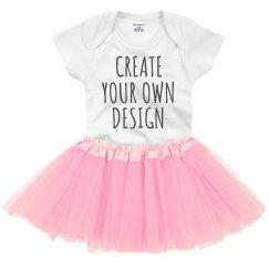 58ff449555a Custom Baby Tutu Onesie