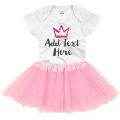 Cute Custom Tutu Onesie