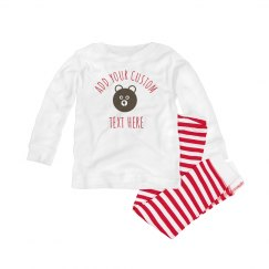 Custom Text Infant Pajamas