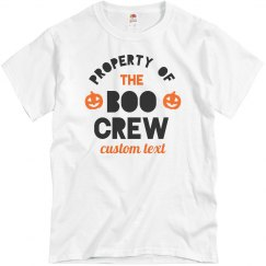 Property of the Boo Crew Custom Halloween Family