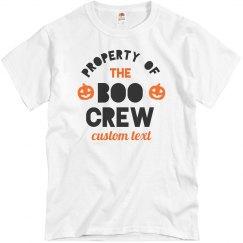 Property of the Boo Crew Custom Halloween Family