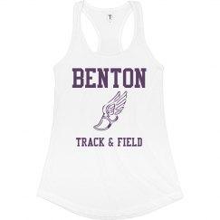 Benton Track and Field Tank