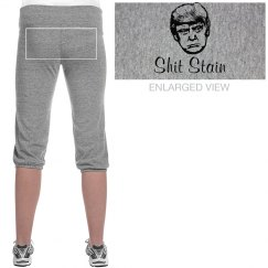 Trump Shit Stain Cropped Sweats