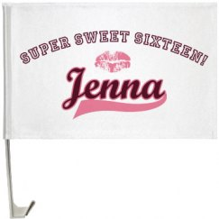 Sweet Sixteen Flag