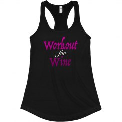 WORKOUT FOR WINE BLACK