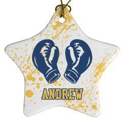 Boxing Christmas Ornament