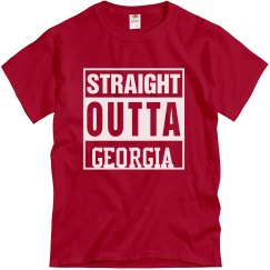 Straight Outta Georgia Tee