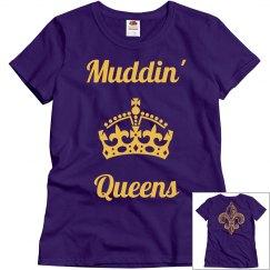 Ladies Muddin Queens Tee