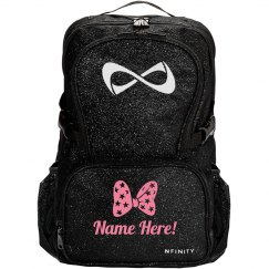 Personalize A Nfinity Sparkle Cheer Bag With Your Name!