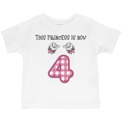 Princess now 4
