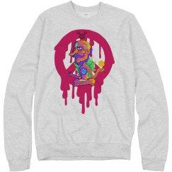 Cosmic Meditation Sweatshirt Vintage Look
