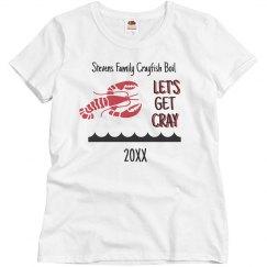 Custom Family Crayfish Boil Shirt