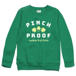 Pinch Proof St. Patrick's Kid's Sweater