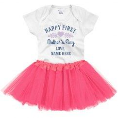 Custom Happy Mother's Day Onesie