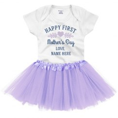 Custom Happy Mother's Day Onesie