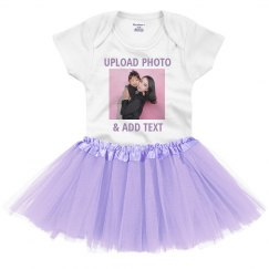Upload A Photo To Baby Tutu Set