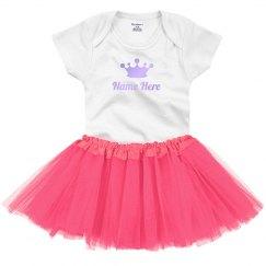 Custom Baby Princess With Shiny Text