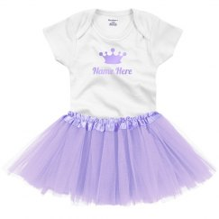 Custom Baby Princess With Shiny Text