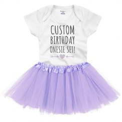 Custom Birthday Design For Baby
