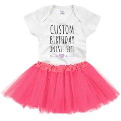Custom Birthday Design For Baby