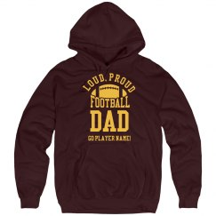 Custom Proud Football Dad