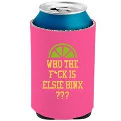 WHO IS EBX KOOZIE PINK