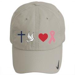 Faith Hope Love Pink Hat