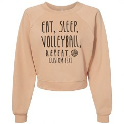 Custom Eat Sleep Volleyball Repeat