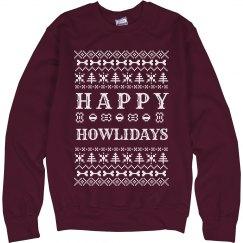 Happy Howlidays Y'all