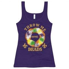 I Want Beads Mardi Gras